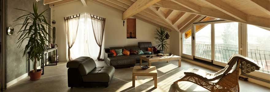 chauffage maison en bois