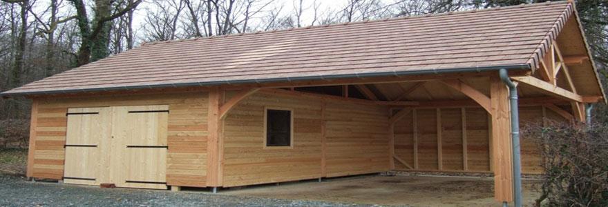 installation d'abris de jardins et de garages